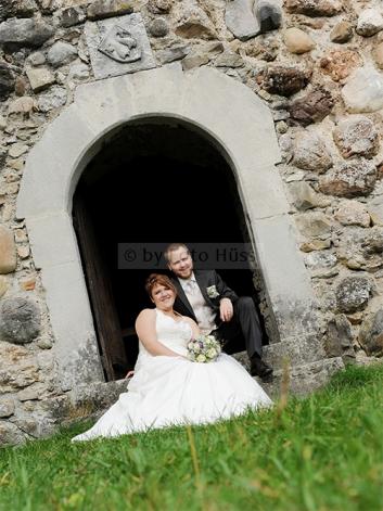 Foto Hüss - Hochzeit -Burg